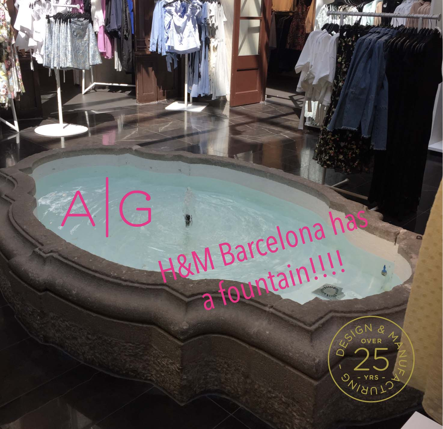 H and M Barcelona