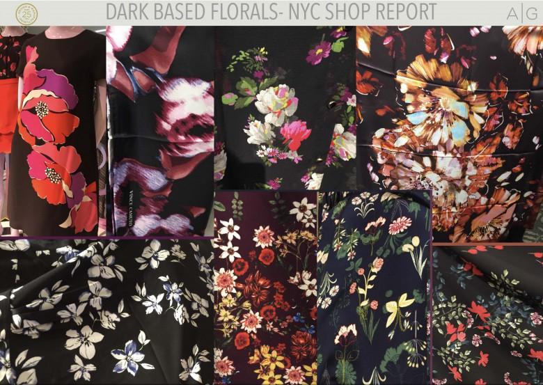 NYC Dark Floral